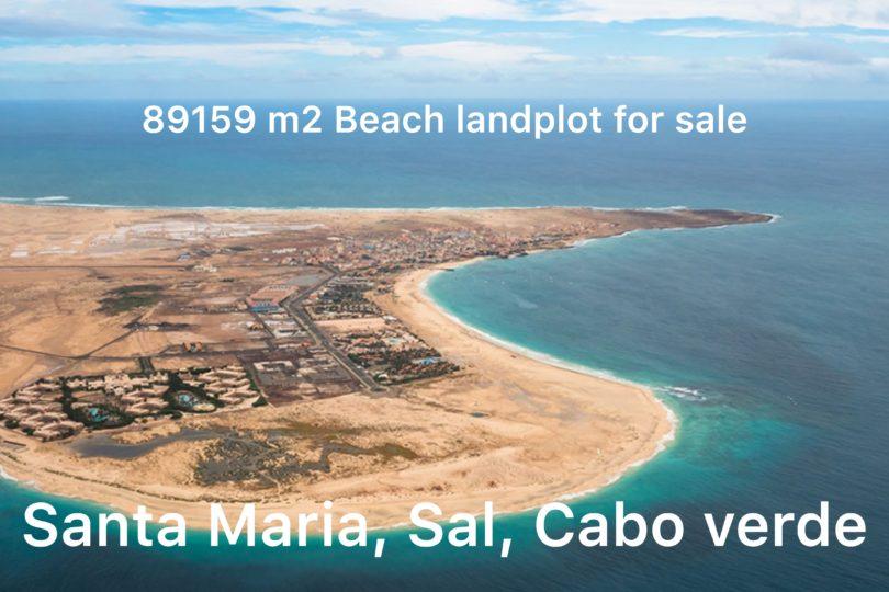 Hotel Development Plot at the beach for sale in Sal, Cape Verde
